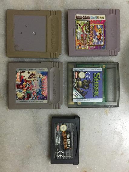 Lote Jogos Game Boy