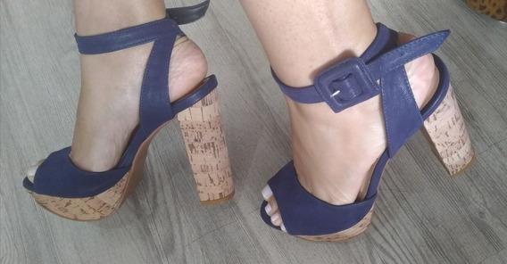 Sandália Mega Pata Azul Marinho