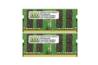 32gb (2 X 16gb) Ddr4-2400mhz Pc4-19200 Sodimm Para Apple Ima