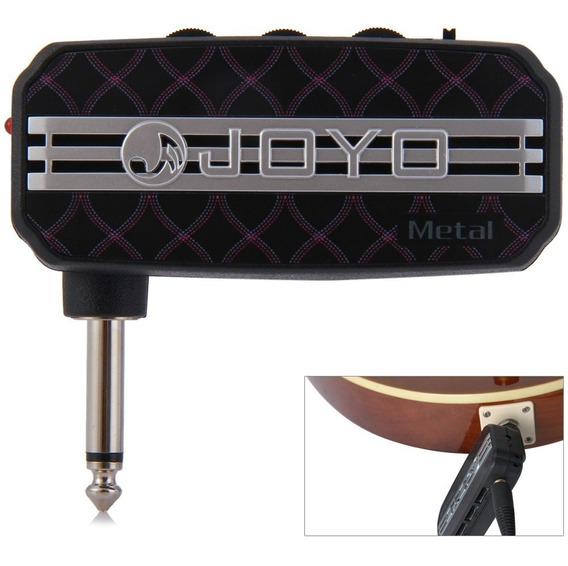 Joyo Ja - 03 Mini Amplificador Guitarra Bolso Projeto Com Me