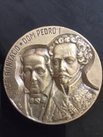 Medalha Comemorativa, José Bonifácio E D.pedro I - 150 Anos