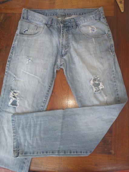 Pantalón De Jean Moha Inc, Talle 40
