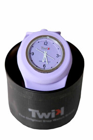 Relógio Twix Slap Branco Máquina Seiko Frete Grátis!!
