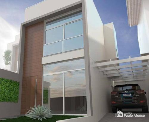 Casa Com 2 Dormitórios À Venda, 91 M² Por R$ 330.000,00 - Maria Imaculada - Poços De Caldas/mg - Ca1226