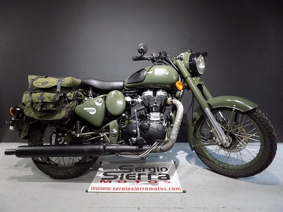 Royal Enfield Classic500 Verde 2016