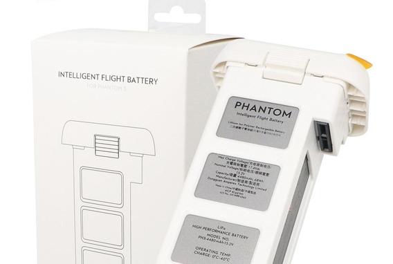 Bateria Drone Dji Phantom 3 4480 Mah Nova Original..