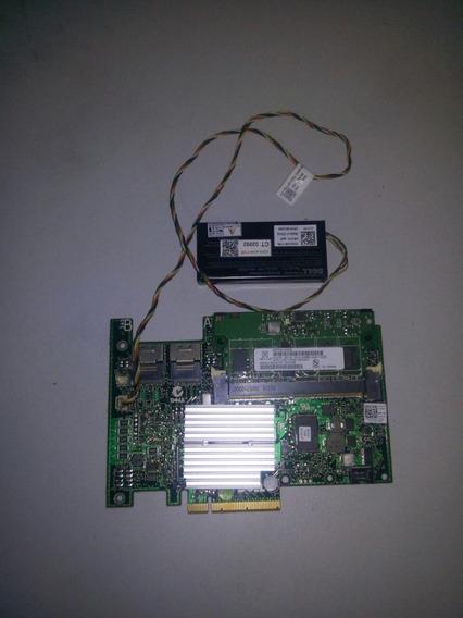 Controladora Dell Perc H700 P/ Hd 4tb 512mb 0xxfvx + Bateria (2)