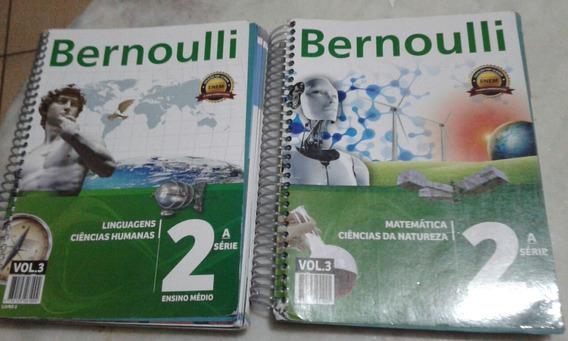 Lote Bernoulli 2a Série Vol 3 Enem Ler Descrição
