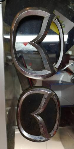 Imagen 1 de 1 de Emblemas Logos De Carro Mazda Accesorio Usado Cod6145 Asch