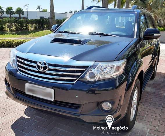 Toyota Hilux Sw4 Srv 3.0 4x4 Diesel Aut. 2013 Preta