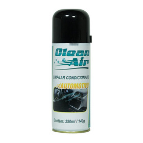 Spray Limpa Ar Condicionado Automotivo Clean Air 140g 250ml