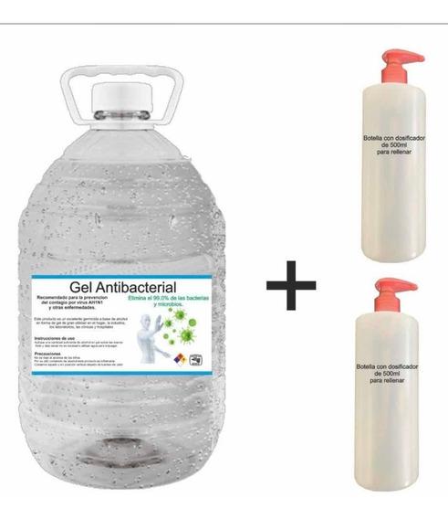 Alcohol En Gel Antibacterial Desinfectante, 5 Lt 70% Alcohol