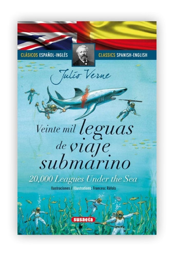 Imagen 1 de 5 de Veinte Mil Leguas De Viaje Submarino (t.d) Ed. Bilingüe