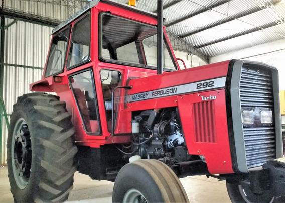 Tractor Massey Ferguson 292, Traccion Simple, Con Cabina