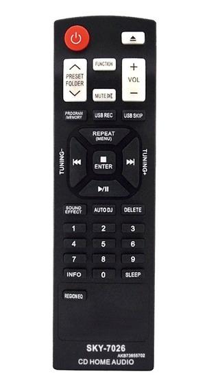 Controle Som Minisystem Lg Cm8330 Cm8430 Cm9530 Cm9730
