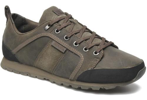 Teva Alameda - Zapatos Tenis De Cuero Impermeable Hombre