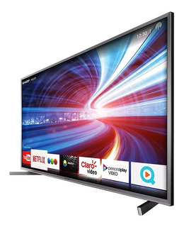 Smart Tv Led 4k 55 Uhd Sharp Hdmi Tda Usb Wifi Oficial Cuota