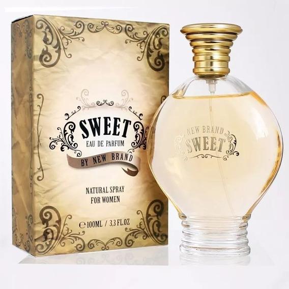 Perfume New Brand Sweet Feminino 100ml Original Lacrado