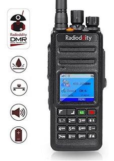 Radioddity Gd-55 Plus 10w Ip67 A Prueba De Agua Uhf 400-470m