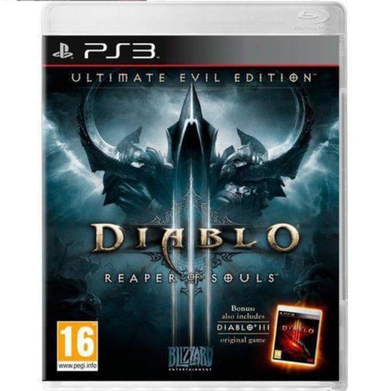 Diablo 3 Ps3 Original Seminovo