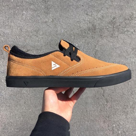 Tenis Original Reyno Footwear R-slip On Tabaco Skate Shoes