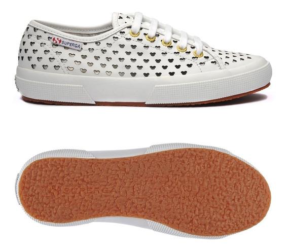 Zapatillas Blancas Caladas Superga 2750 Edicion Disney