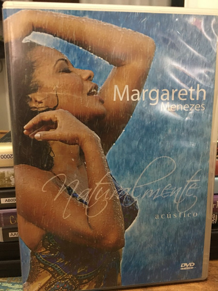 Dvd Margareth Menezes - Naturalmente Acústico