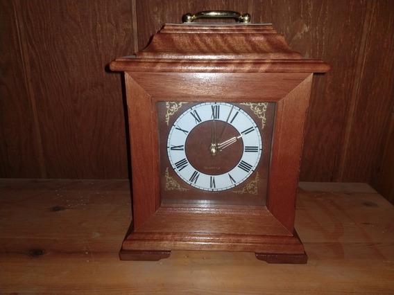 Reloj De Mesa O Chimenea De Pila