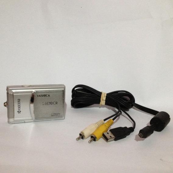 Câmera Digital Kyocera Yashica Esplendor (retirada De Peças)