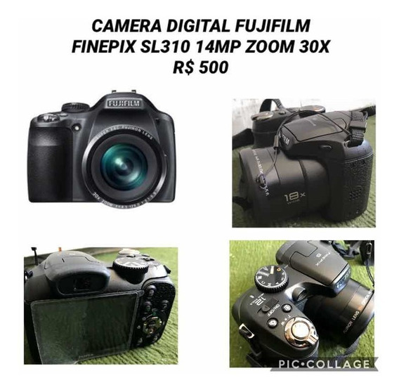 Câmera Semi-profissional Fujifilm Finepix Sl 310 14mp/30x