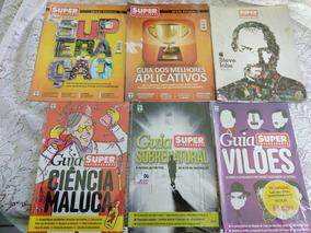 Revistas Super Interessante - 6 Edições Especiais - Lacradas