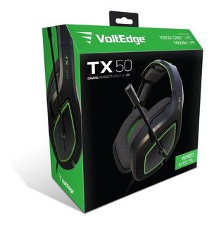 Headset Tx-50 Xbox One Voltedge ( Garantía De Por Vida )