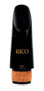 Boquilla Para Clarinete Importado Rico Royal C7
