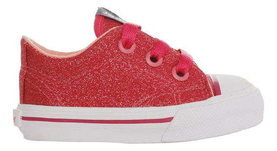 Zapatillas Topper C Moda Pasitos Glitter Bebe Fu