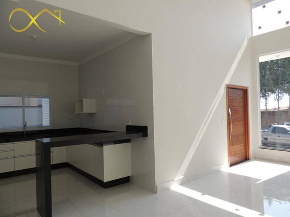 Casa Com 3 Dormitórios À Venda, 200 M² Por R$ 910.000,00 - Condomínio Terras Do Fontanário - Paulínia/sp - Ca1775