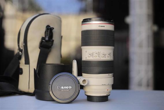 Lente Canon 70-200mm F2.8 Ls Ii
