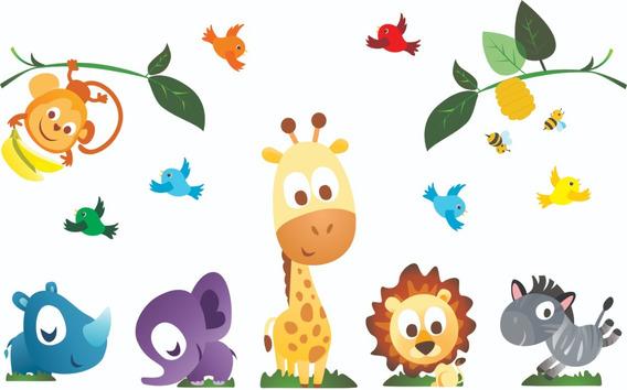 Adesivo Floresta Parede Quarto Infantil / Festas
