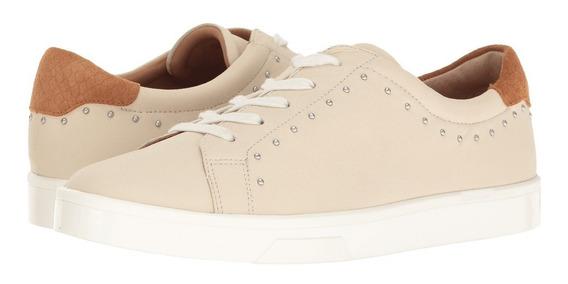 Zapatos De Cuero Calvin Klein Para Mujer 26mx