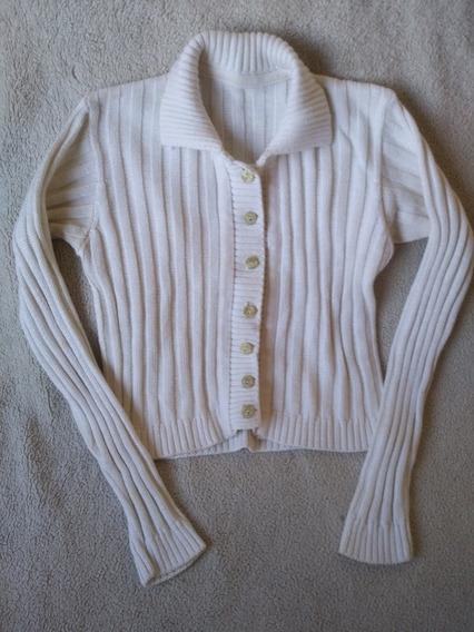 Saco Campera Sweater Hilo Algodon Mujer Ts