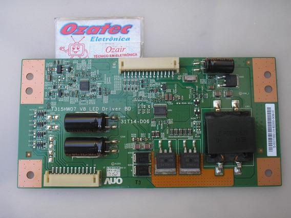 Placa Inverter Le32w157 T315hw07 V8 Aoc