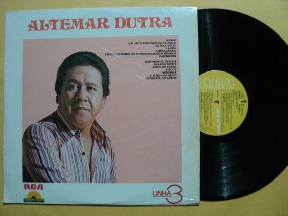 Lp Altemar Dutra Linha 3 Disco De Ouro 1979 Zero Frete 15,00