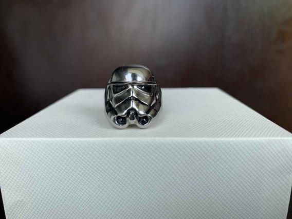 Anillo Star Wars Stormtrooper Color Plata