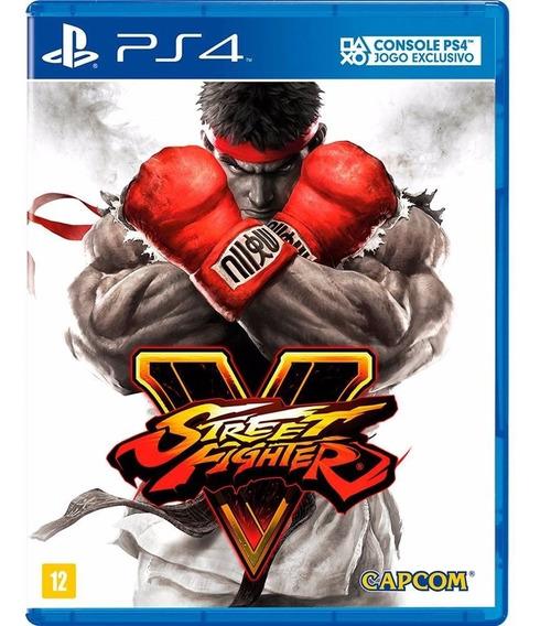Street Fighter V Ps4 Psn Code 1 Jogue Hoje