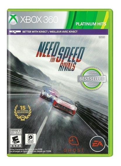 Need For Speed Rivals - Xbox 360 - Novo - Lacrado