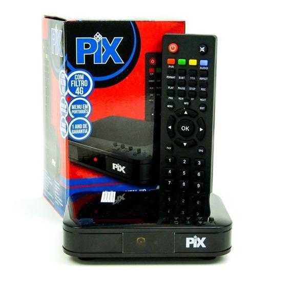 Receptor Gravador Conversor Digital Filtro 4g Hdmi Usb Pix