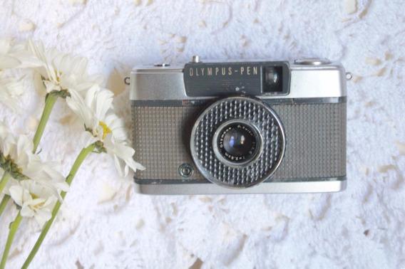 Câmera Olympus Pen Ee - Funcionando_analógica_vintage