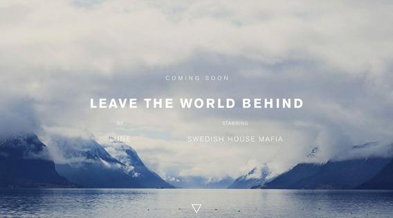 Dvd Swedish House Mafia, Leave The World Behind