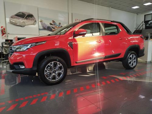 Fiat Strada Volcano 2020 Roja 0 Km En Stock