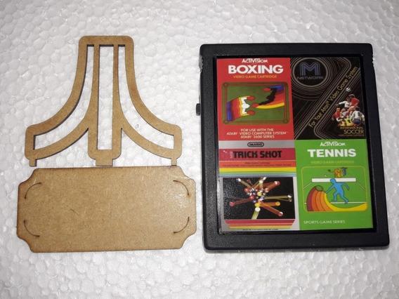 Trick Shot/ International Soccer/ Boxing/ Tennis 4 In1 Atari