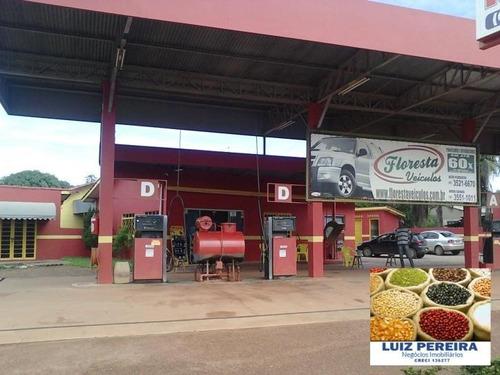 Imagem 1 de 7 de Posto De Gasolina A Venda  Em Nova Canaã - Mt-de 3 Lotes - 612